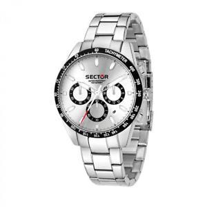 【送料無料】orologio tempo e data uomo sector 245 r3273786005 acciaio nuova collezione