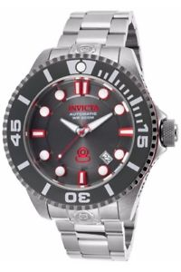 【送料無料】 mens invicta 19802 grand diver gen ii automatic steel bracelet watch