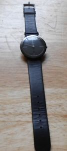 【送料無料】watch people klaus botta design watch water resistant 3atm pvd plated eso german