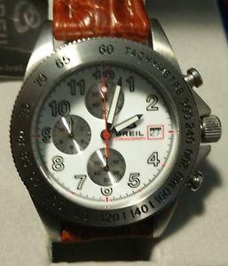 【送料無料】breil chronograph marango neuf quartz