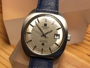 montre vintage tissot seastar 2481 automatique acier