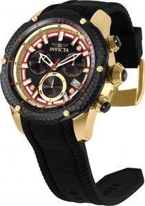 【送料無料】 mens invicta 25962 venom python swiss chronograph silicone watch