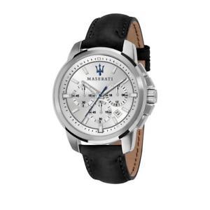 【送料無料】orologio cronografo uomo maserati successo r8871621008 nero