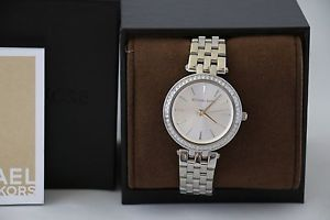 【送料無料】michael michael kors mk3364 womens mini darci stainless steel watch 33mm