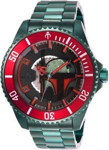 【送料無料】invicta mens star wars automatic 200m green stainless steel watch 26598