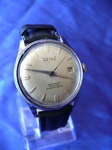 rare vintage mens tugaris swiss automatic 21 jewels wrist watch