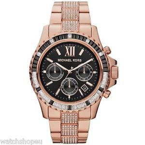 【送料無料】ex display michael kors mk5875 rose gold everest watch