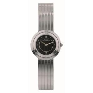 【送料無料】michel herbelin womens 24mm steel bracelet amp; case quartz watch 17013b14