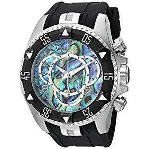 【送料無料】invicta excursion 25016 silicone, stainless steel chronograph watch