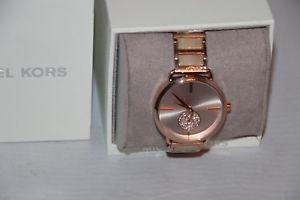 【送料無料】michael kors womens crystal twotone stainless steel and acetate watch mk3678