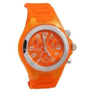 【送料無料】michele tahitian jelly bean chronograph watch, brand with tags and case