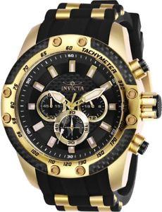 【送料無料】 mens invicta 25940 50mm speedway chronograph silicone strap watch