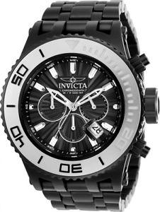 【送料無料】 mens invicta 23940 subaqua chronograph steel bracelet watch