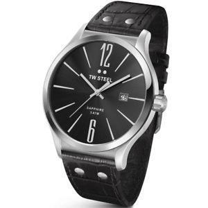 【送料無料】brand tw steel mens slim line 45mm watch tw1300