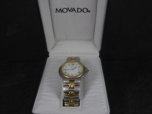 mens movado 81 e2 887 2 stainless steel watch