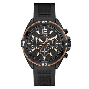 【送料無料】guess w1168g3 mens surge chronograph wristwatch