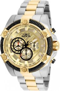 【送料無料】 mens invicta 25518 bolt chronograph steel bracelet watch