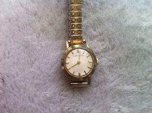 【送料無料】vintage 10kt gold filled longines womens wrist watch low  lk