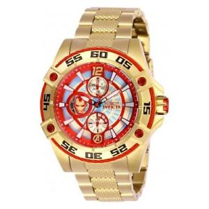 invicta womens marvel quartz 100m chronograph stainless steel watch 27022
