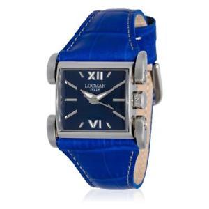 【送料無料】orologio donna locman latin lover 050600blfnk0psb vera pelle blu