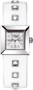 【送料無料】swarovski elis white crystal watch 1000677 swiss movement