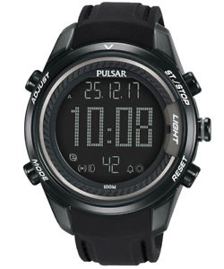【送料無料】pulsar herrenuhr alarmchronograph rally chrono p5a009x1
