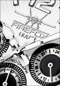 firefox racer edelstahl herrenuhr chronograph