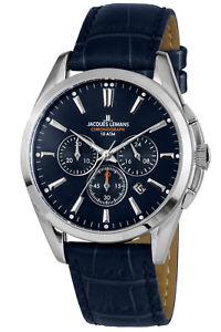【送料無料】jacques lemans herrenuhr chronograph derby chrono 11945b