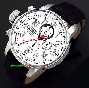 invicta mens i force lefty quartz chronograph cloth strap luxury watch