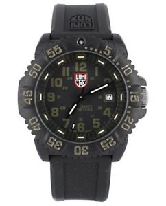 luminox 3064 mens navy seal colormark rubber strap watch