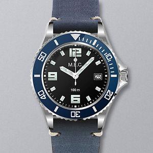 【送料無料】orologio uomo militare automatico vintage acciaio subacqueo quarzo garanzia
