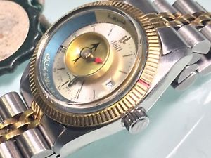 【送料無料】vintage dalil satellite montecarlo 21j ladies automatic wristwatch muslim mecca