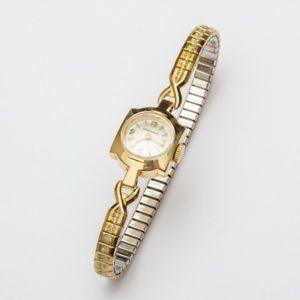【送料無料】running 14k solid gold longines vintage ladies wrist watch