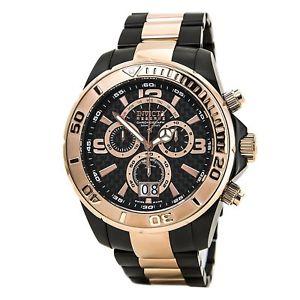 【送料無料】invicta mens reserve collection chronograph watch 14055 msrp 1995