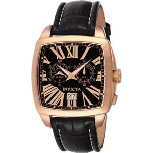 【送料無料】invicta men's vintage collection the diplomat alarm watch 3419 swiss made gold