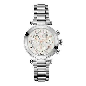 【送料無料】guess collection womens gc ladychic 365mm steel case quartz watch y05010m1