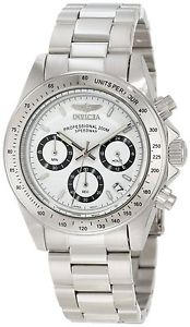 【送料無料】invicta ssteel pro speedwaychronotachymeterdate200m watch 9211 msrp355