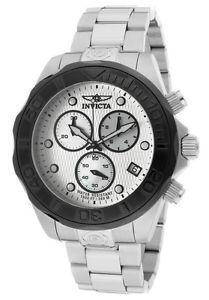 【送料無料】 mens invicta 11448 pro diver chronograph steel bracelet watch