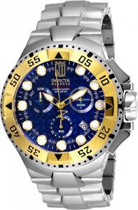 【送料無料】invicta mens jason taylor swiss quartz chrono 200m stainless steel watch 17844