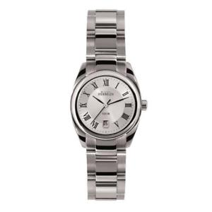 【送料無料】michel herbelin womens ambassador 26mm steel bracelet quartz watch 12828b01