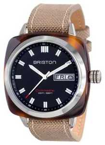 【送料無料】briston mens clubmaster sport acetate hms 15342sats1lsk watch 19