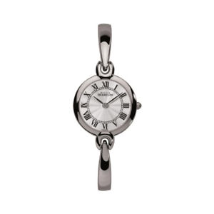 【送料無料】michel herbelin womens salambo 25mm steel bracelet quartz watch 17402b08
