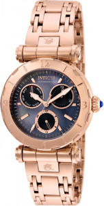 【送料無料】invicta womens subaqua chrono 100m rose gold tone stainless steel watch 24429