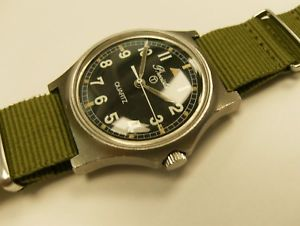 【送料無料】precista british army g10 watch 1982 fatboy all original