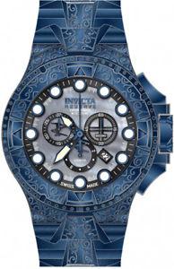 送料無料 invicta men excursion swiss quartz chrono 200m 今だけ限定15%OFFクーポン発行中 17866 steel 予約 stainless blue watch