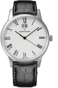 【送料無料】claude bernard sophisticated classics big date 63003 3 br