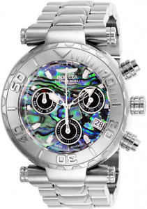 【送料無料】invicta mens subaqua quartz chronograph 200m stainless steel watch 25798