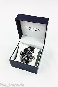 【送料無料】*nautica* nst 100 a32516g chronograph watch