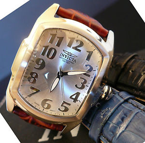 【送料無料】invicta 5726 mens 40mm lupah special edition watch with 3 strap gift set