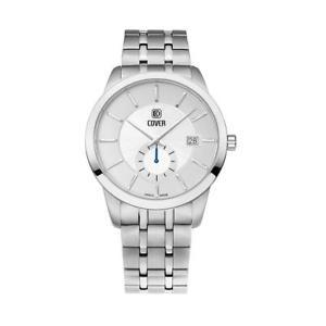 【送料無料】cover mens nobila 40mm steel bracelet amp; case swiss quartz watch co17302